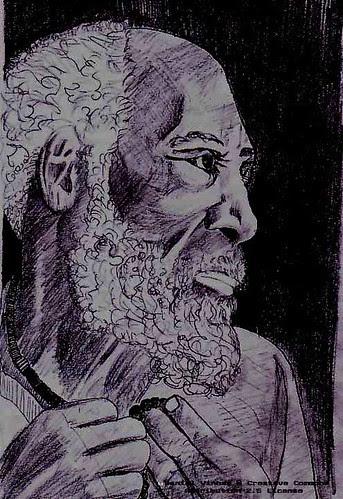 pretovelho by Daniel Vinhas - Desenhos e Rabiscos