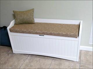 New Bench Cushion