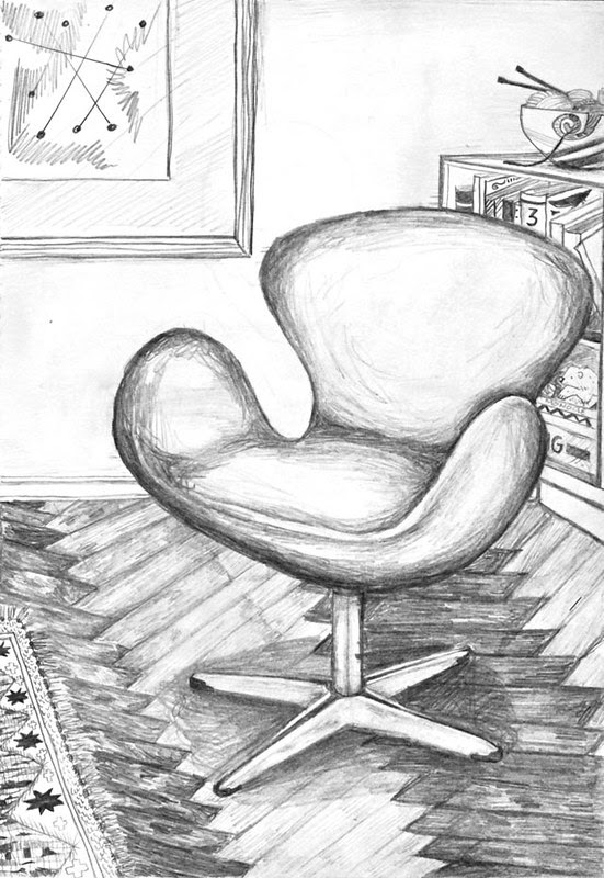 Arne Jacobsen's Swan Chair