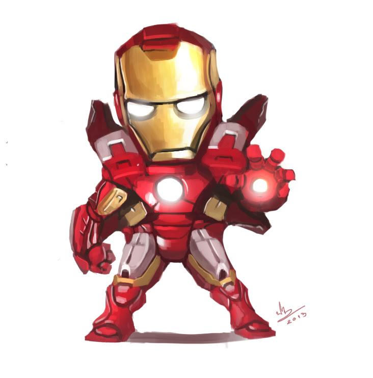 100+ Gambar Animasi Iron Man Terlihat Keren
