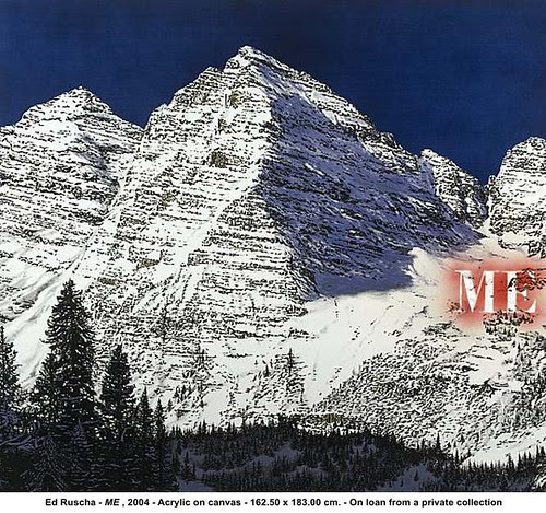Ed Ruscha - ME , 2004 by artimageslibrary