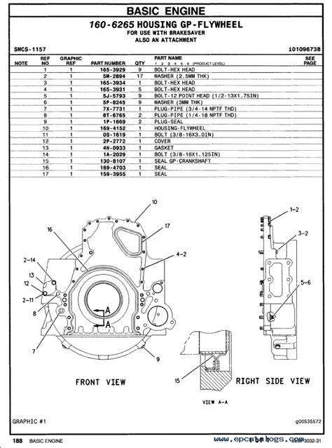 caterpillar C-15 Truck Engine Parts Manual PDF