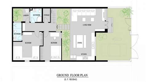 modern home floor plan modern small house plans modern