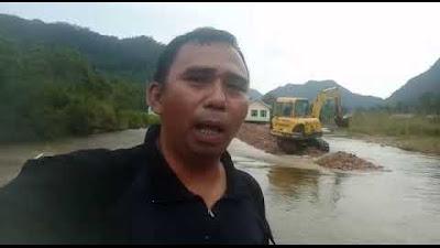 Sekolah TK Suci Hati Tergenang Luapan Air Sungai