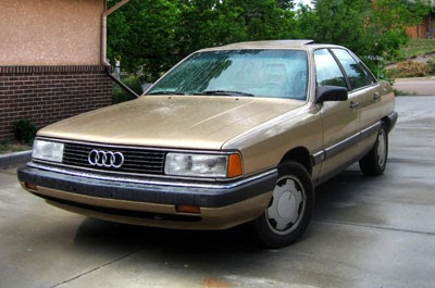 User manual  1988    Wiring       diagram       Audi    5000S not    system    of
