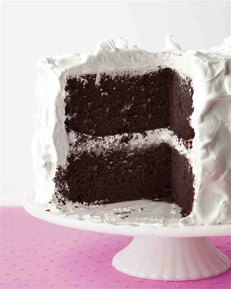 Devil's Food Cake with Fluffy Frosting Recipe & Video