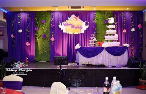 Church anniversary stage decoration, new wedding reception