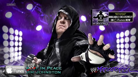 wwe single rest  peace undertaker theme song itunes