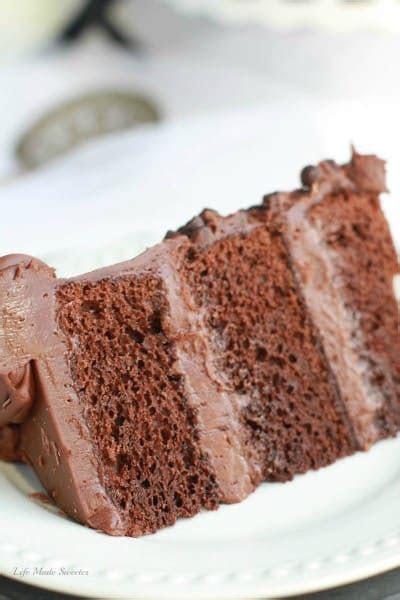 Triple Chocolate Layer Cake   Life Made Sweeter