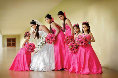 Flower Girl & Bridesmaid Dresses in Sri Lanka   Wedding