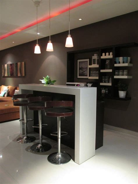 stylish contemporary home bar design ideas interior vogue