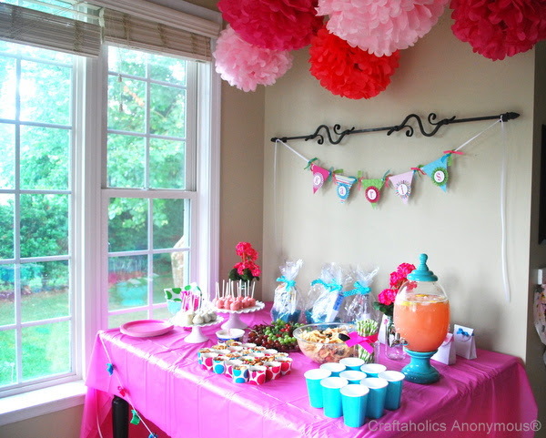 Craftaholics Anonymous® | Diapers & Bows Baby Shower