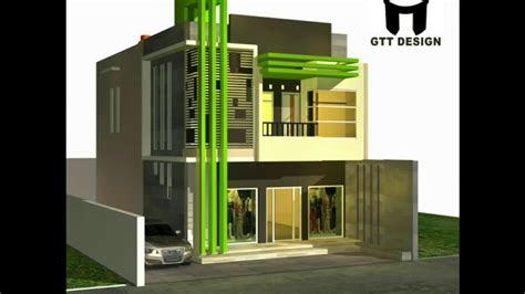 desain rumah ruko 2 lantai   desain rumah minimalis