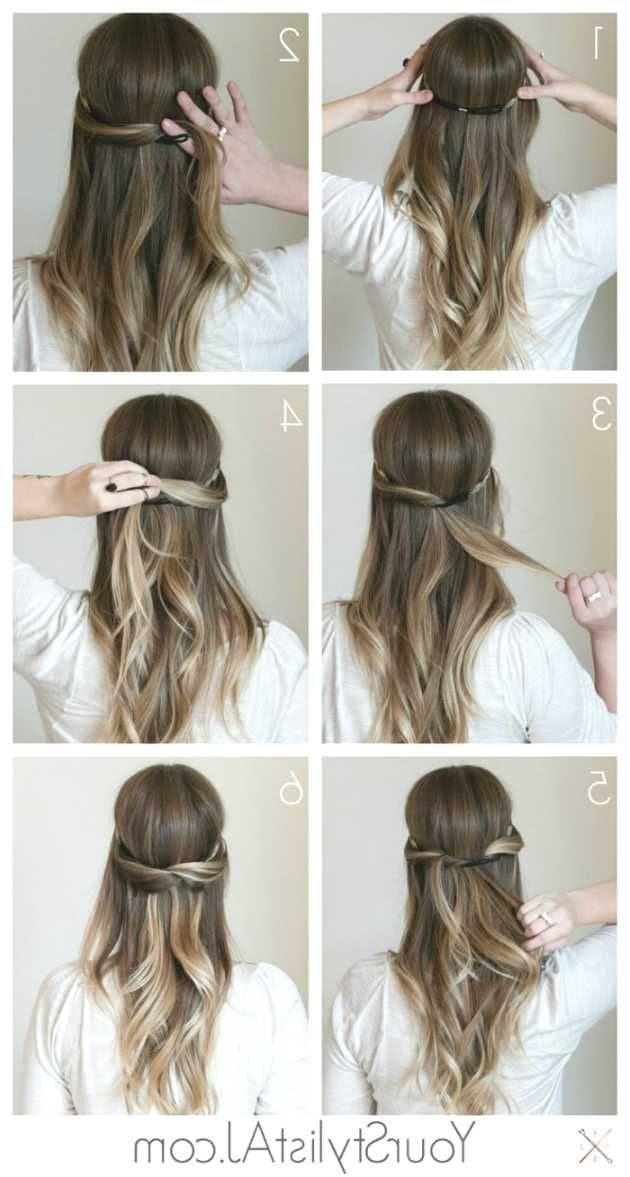 Frisur Lange Haare Arbeit