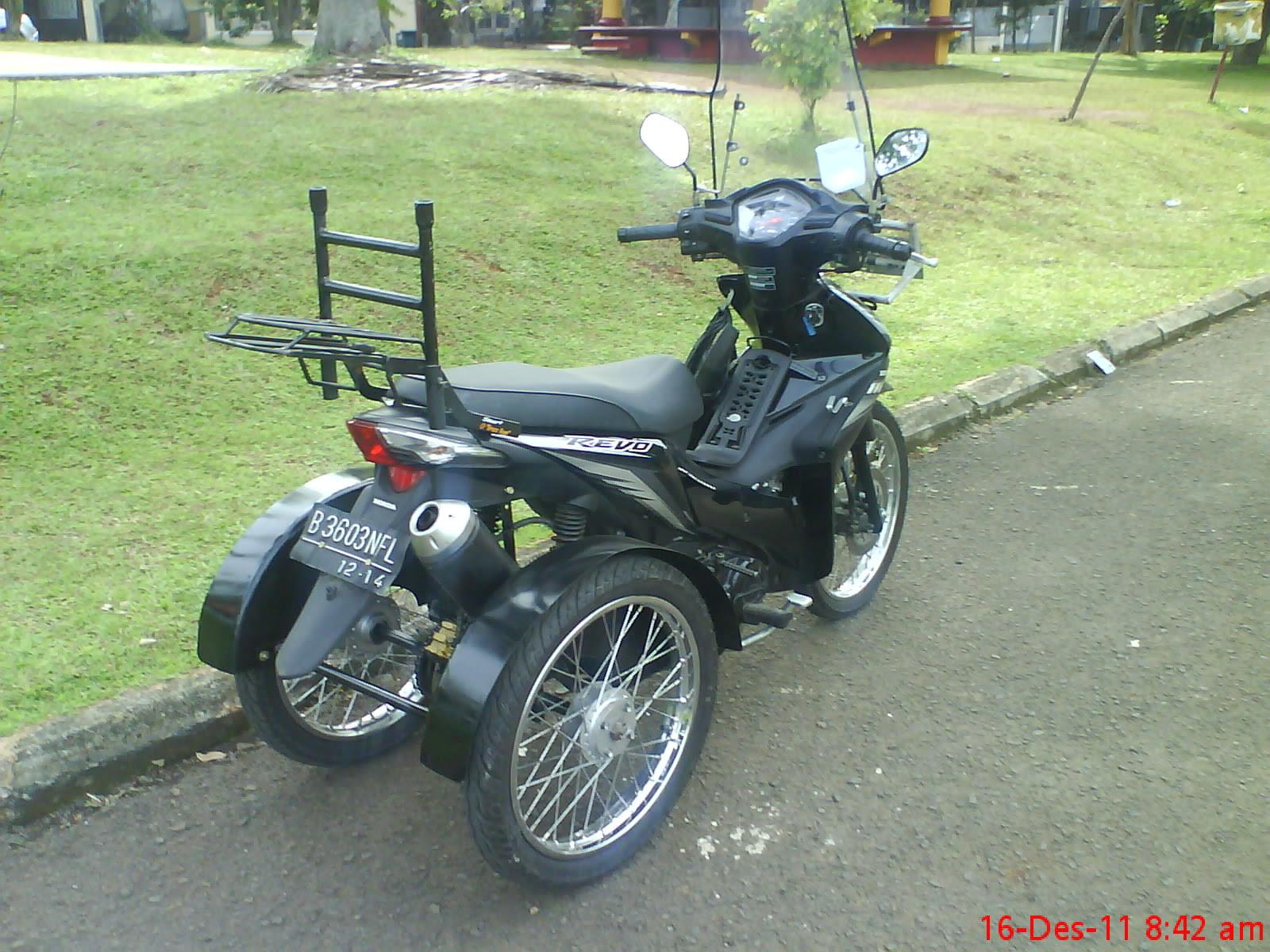 Top modifikasi motor roda tiga