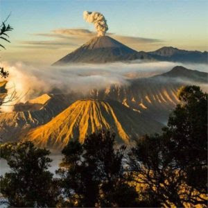Java Indonesia Volcano  Tour Package Tumpak Sewu  Waterfall