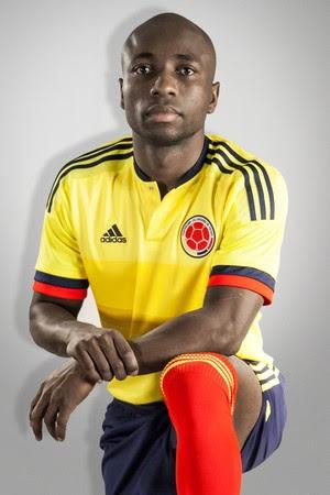 Pablo Armero, da Colômbia (Foto: Divulgação / Adidas)