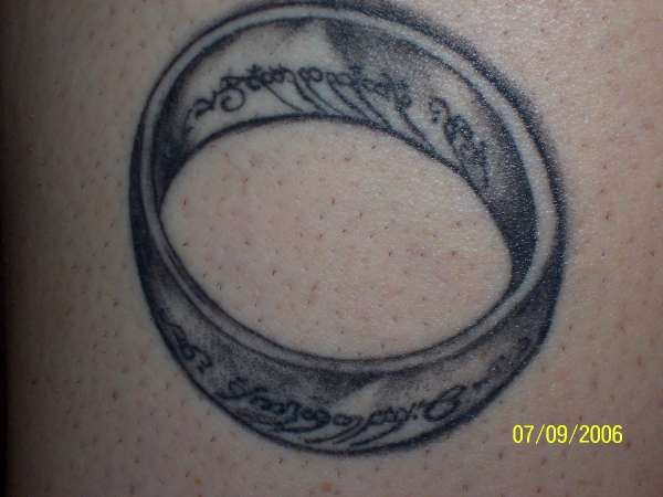 The One Ring Tattoo