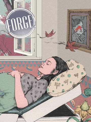 FORGE. Issue 8: Sincere cover