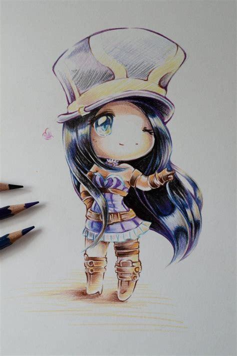 chibi caitlyn  lighane  deviantart anime manga