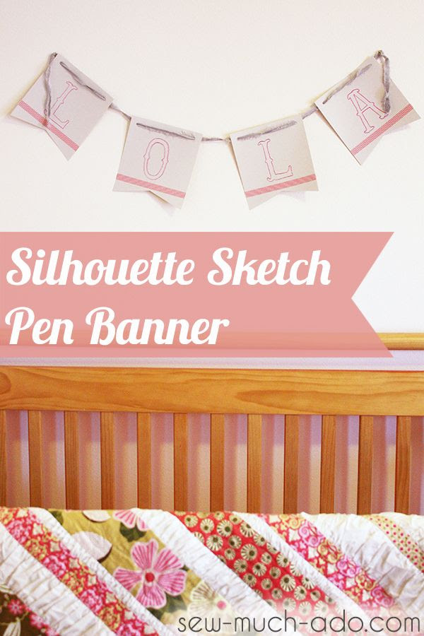 Sketch pen, Silhouette, project idea, banner
