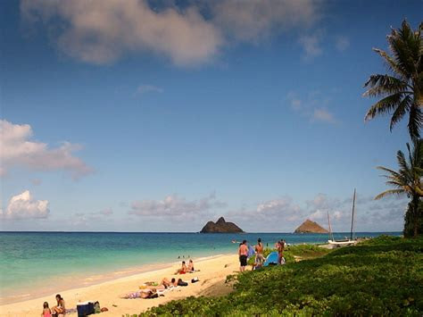 lanikai beach hawaii desktop hd wallpape