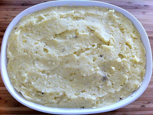 Spread Mashed Potatoes Evenly