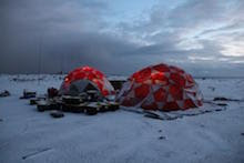 South Sandwich Islands Southern Thule Island VP8STI Camp