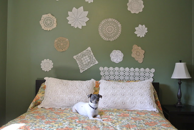 DIY: Doily Wall Art | PunkyStyle.