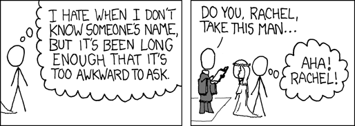 Gently embedded from XKCD.com