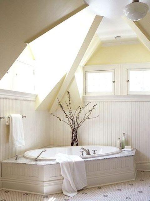 38 Practical Attic Bathroom Design Ideas - DigsDigs