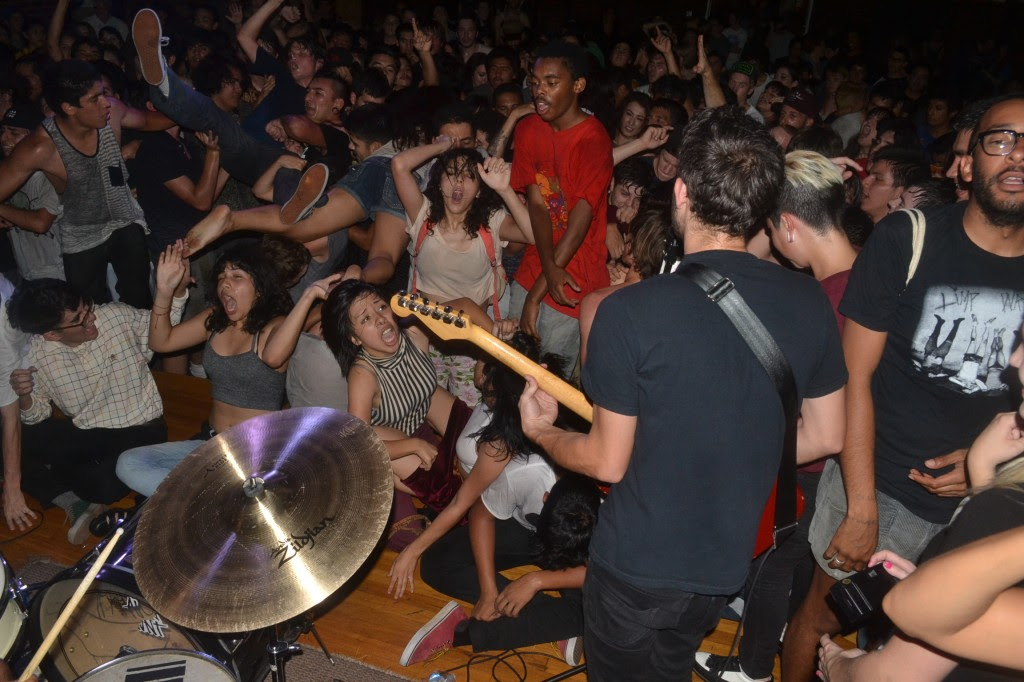 LIVE REVIEW: KXLU plus Burger Records: End of Summer Bash at the Warehouse in El Monte, Ca. - 9/7/13- Together Pangea, The Lovely Bad Things, The Garden, Cherry Glazerr, Tashaki Miyaki and MORE