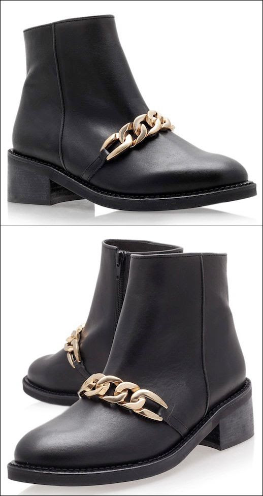 LE FASHION BLOG SHOE CRUSH KURT GEIGER STRIKE CHAIN BOOT GIVENCHY CURB CHAIN INSPIRED BLACK ANKLE BOOT WITH GOLD CHAIN FLAT BOOT CHEAPER SIMILAR ALTERNATIVE photo LEFASHIONBLOGSHOECRUSHKURTGEIGERSTRIKECHAINBOOTGIVENCHYINSPIRED.jpg