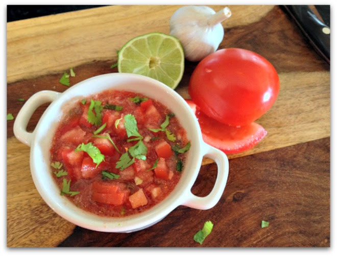 Meatless Monday: Farm-fresh, Homemade, Organic Tomato Salsa