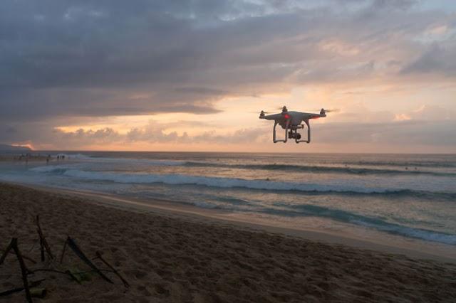 Litoral do Piauí terá drones fiscalizando veículos na faixa de areia