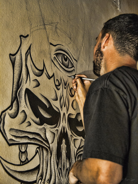 Downey art gallery wall painter