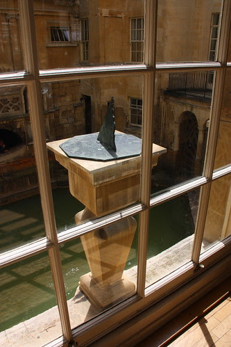 The Pump Room overlooking the Roman Bath