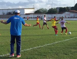 América-RN x Atlético Potengi jogo-treino (Foto: Divulgação/Edmo Anderson)