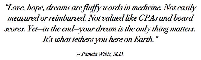 Loyola Commencement Speech Live Your Dream Pamela Wible Md