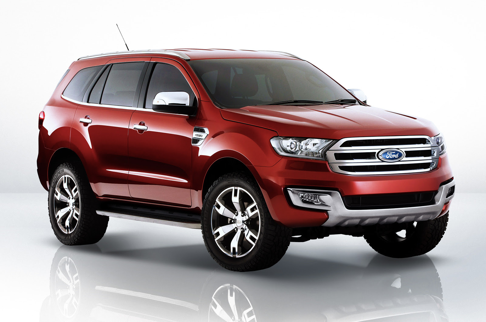 2015 Ford Endeavour India | Car Interior Design