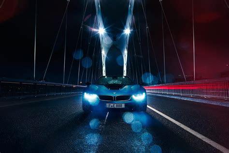 vehicle car bridge rain bmw bmw  wallpapers hd