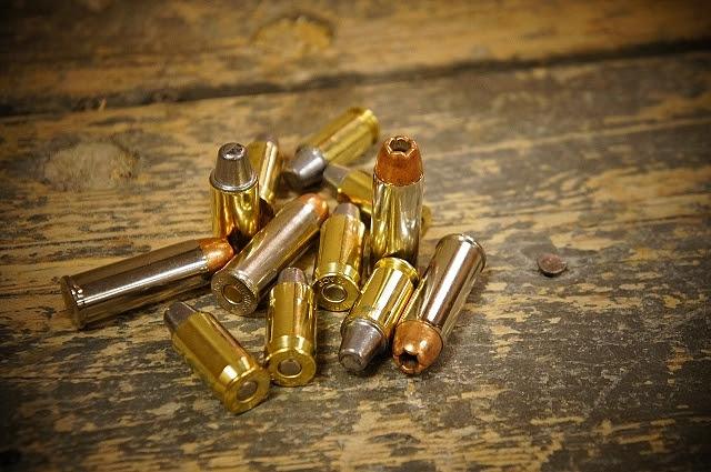 Photo of loose cartridges