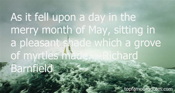 Quotes About Merry Month Of May 11 Quotes