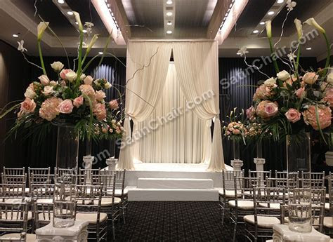 Ceremony Decor ? Rent in Chicago   Event Decor by Satin Chair