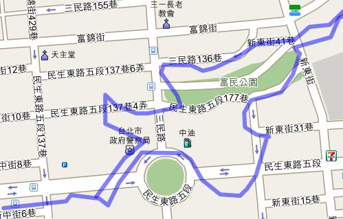 我的步行地圖