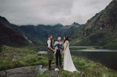 Secret Scottish Elopement on the Isle Of Skye: Laura