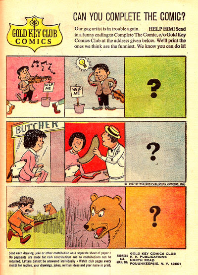 Can You Complete the Comic?
