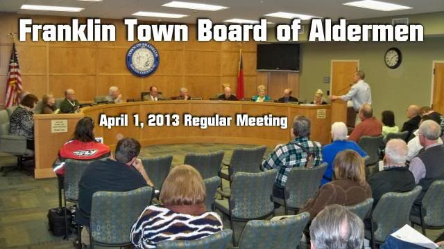 Franklin Aldermen April 2013