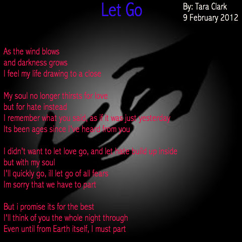 Let Go Poems By Teen Poets