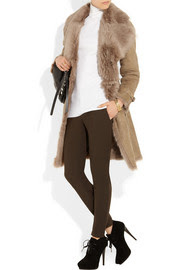 Burberry LondonBelted shearling coat